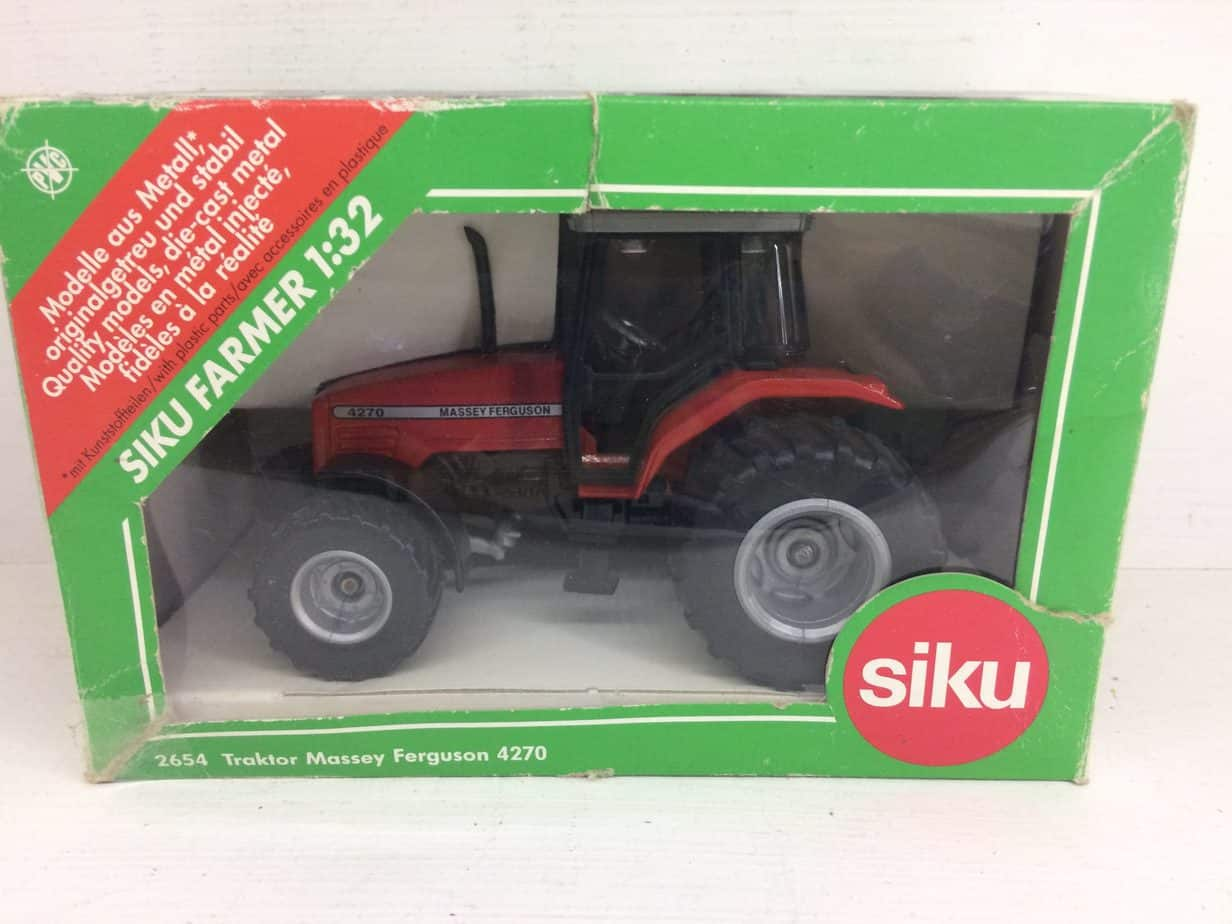 Siku Traktor Massey Ferguson 4270 - Edward White Model Scenery 3e3086bb552fd